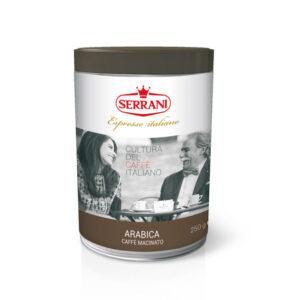 serrani caffè linea casa macinato miscela arabica