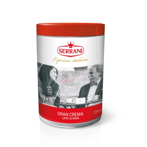 serrani caffè linea casa in grano miscela gran crema