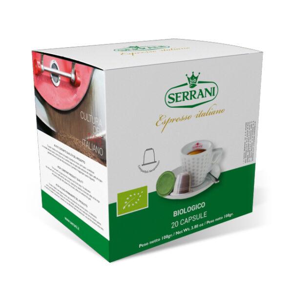 serrani capsule compatibli nespresso biolgoco