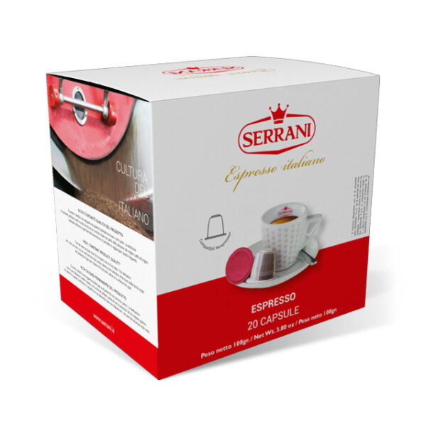 serrani capsule compatibli nespresso espresso